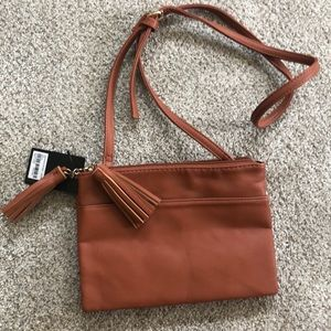 Forever 21 Cognac Small Crossbody